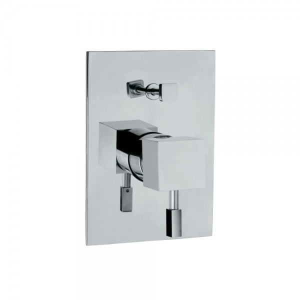 Single Lever In-wall Diverter