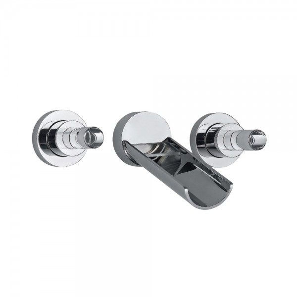 Built-in Two In-wall Stop Valves
