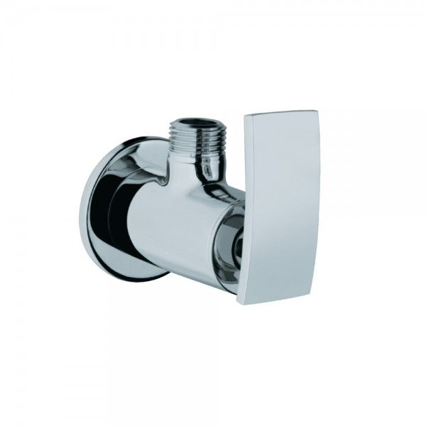 Angle Valve With Wall Flange