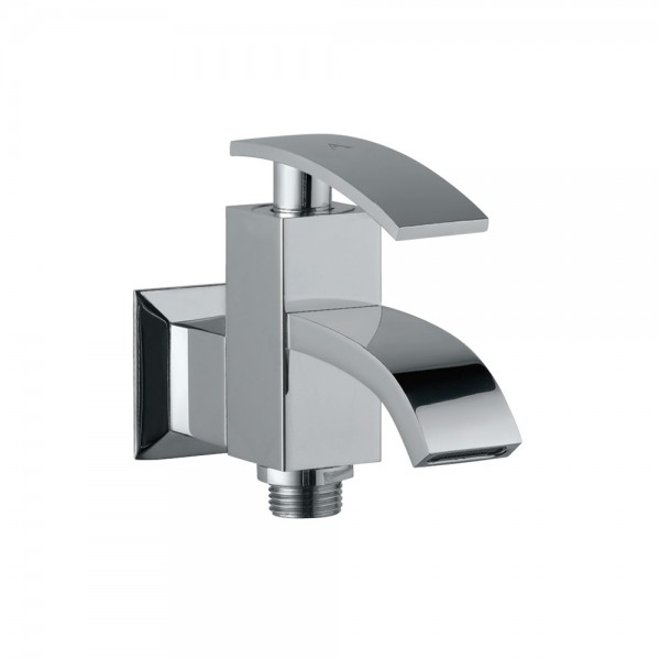 2-Way Bib Tap With Wall Flange